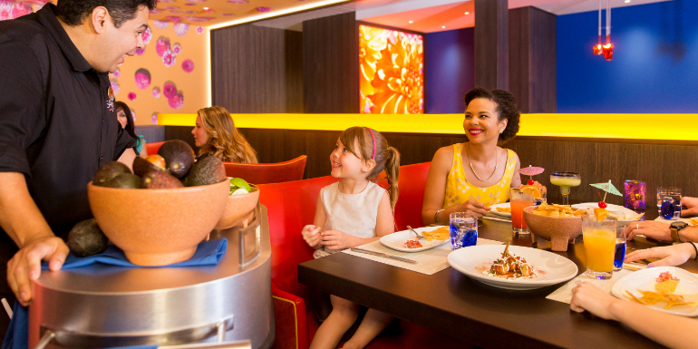 liberty of the seas sabor modern mexican dining