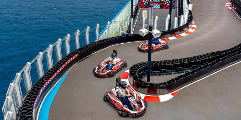 norwegian bliss joy go karts cruise