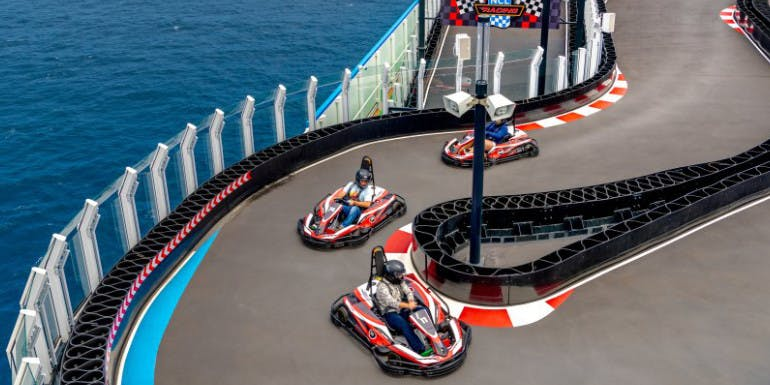 norwegian bliss joy go karts cruise