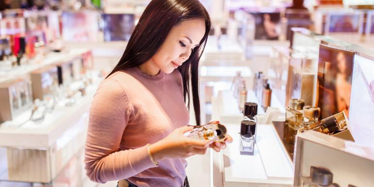 duty free shopping cruise ship perfume