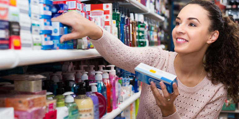store shopping duty-free toiletries cruise
