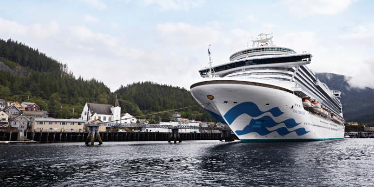 star princess cruises alaska exterior ship
