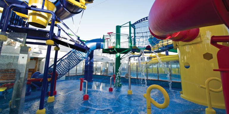 norwegian escape water park slides aqua