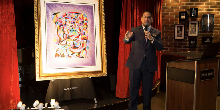 park west art gallery auction norwegian cruise waste of time