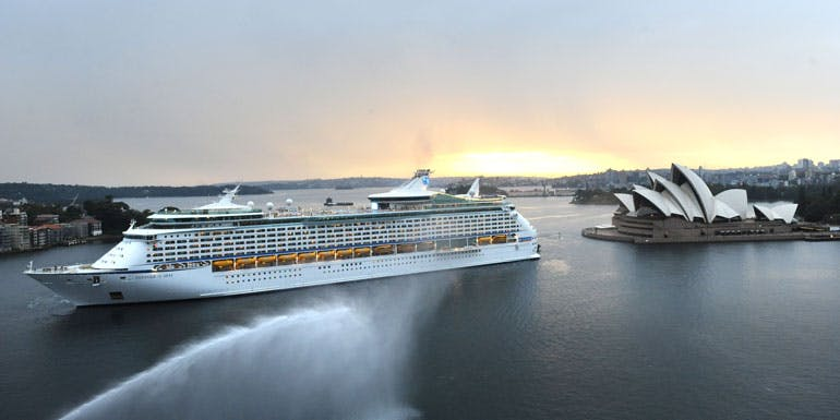voyager of the seas australia