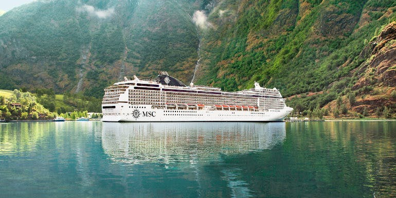 msc magnifica world cruise norway expensive