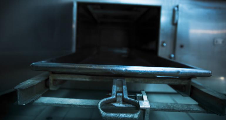 morgue cruise ship secret space existed