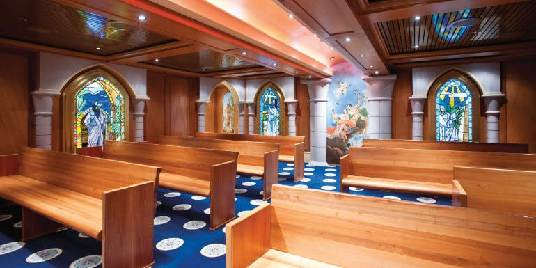 carnival cruise ship chapel holiday church