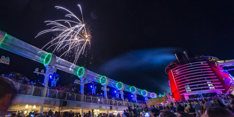 disney cruise fireworks independence day july