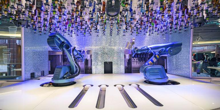 royal caribbean bionic bar cruise ship