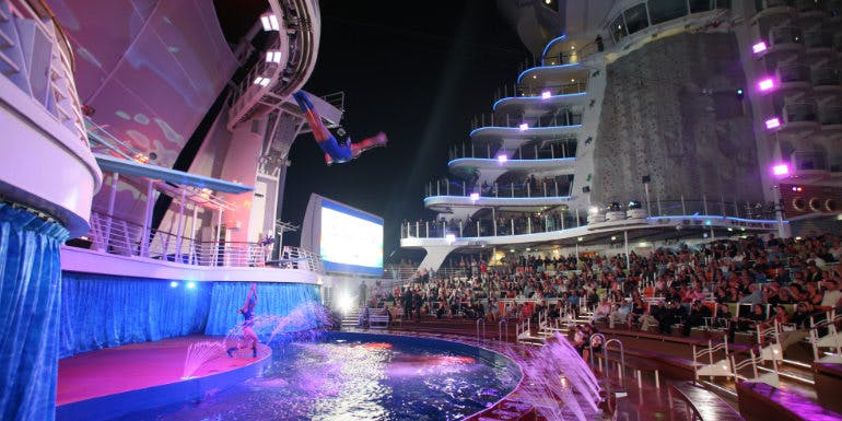 royal caribbean oasis high dive cruise