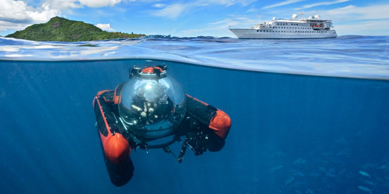 crystal esprit submarine cruises luxury excursion