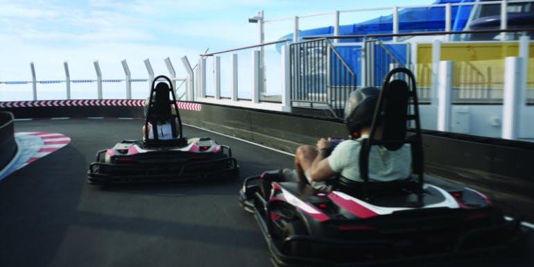 norwegian cruise bliss joy encore go kart