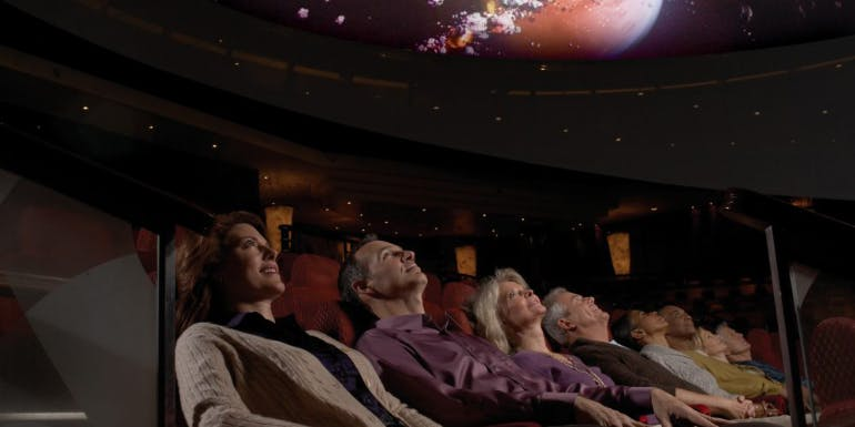 cunard viking orion ocean planetarium queen mary