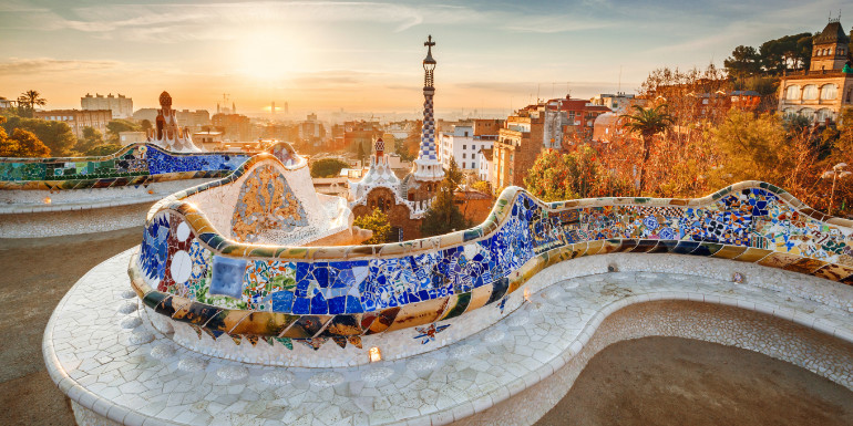 barcelona spain mediterranean cruise month