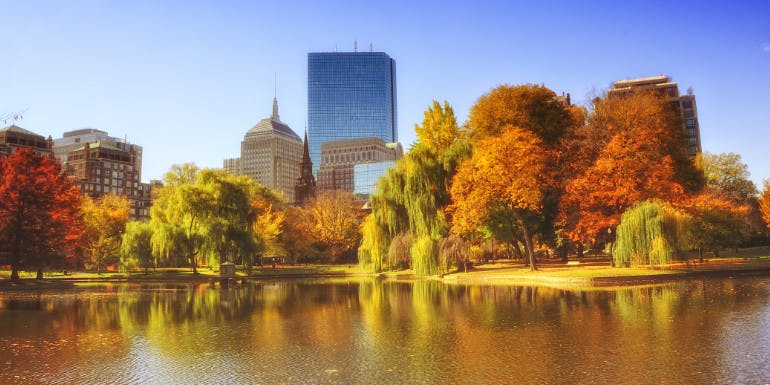 boston massachusetts fall foliage cruise month