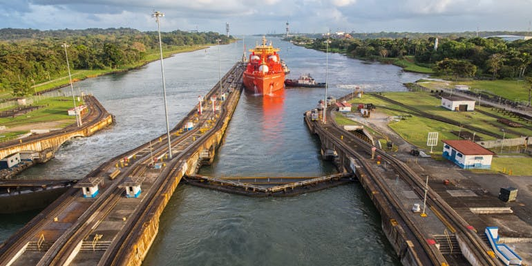 panama canal locks best cruise month september