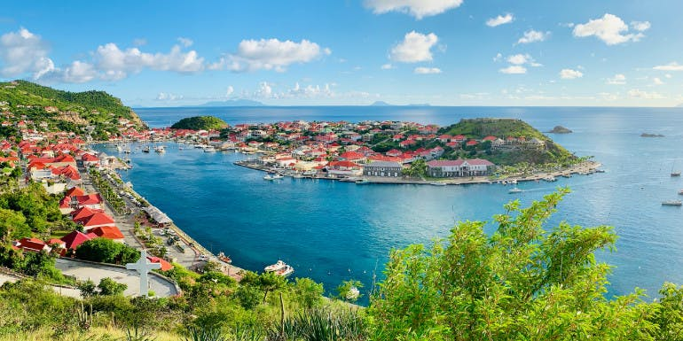 gustavia st barts caribbean island luxury cruise