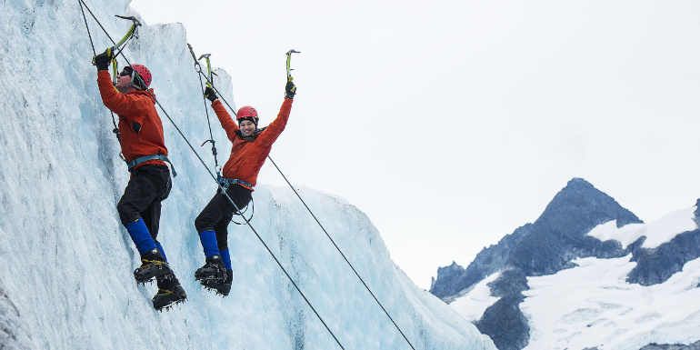 adults shore excursion glacier alaska disney cruise