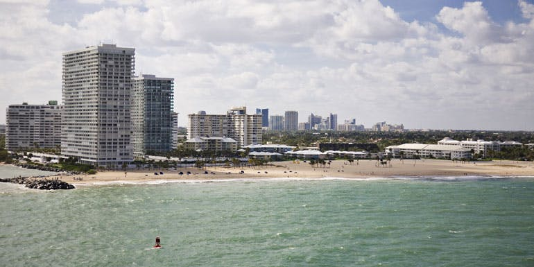 ft lauderdale hotel cruise airfare