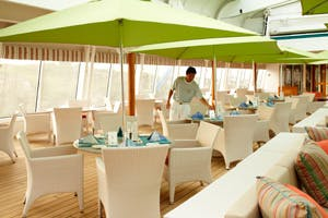 trident grill burgers symphony cruise ship