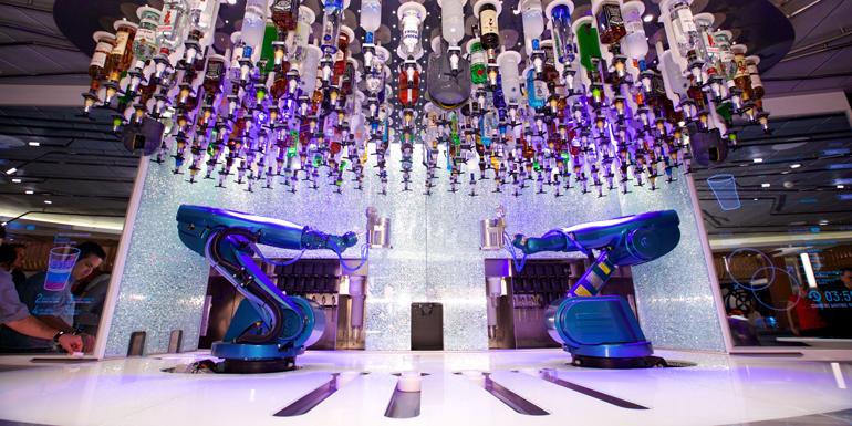 robot bartenders quantum of the seas