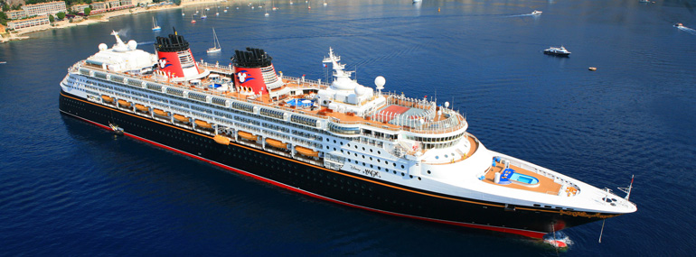 If Disney Cruise Line's <i>Disney Magic</i> ship was turned on end, which famous monument would it be closest to in height?