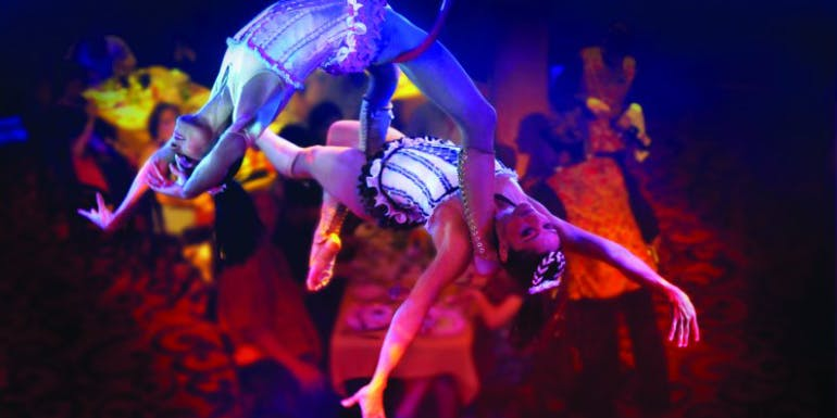 norwegian cruise cirque aerial production entertainment