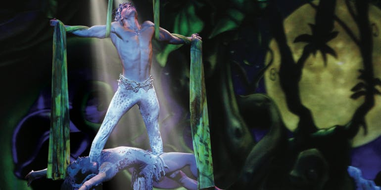 norwegian cruise entertainment show cirque jungle
