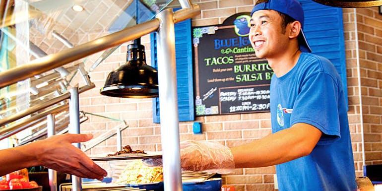 blue iguana taco carnival best food