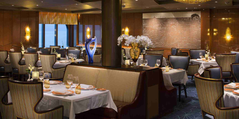 holland america pinnacle grill dining