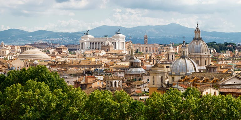 best cruise rome eastern mediterranean route