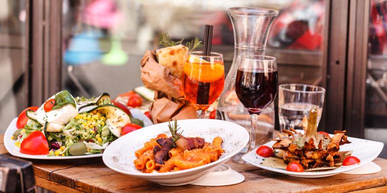 italian food med cruise mediterranean