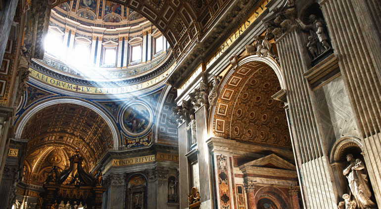 st peters basilica med mediterranean cruise