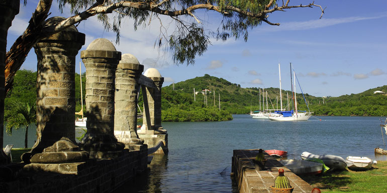 nelsons dockyard english harbour antigua caribbean