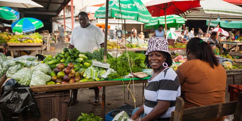 castries market st lucia