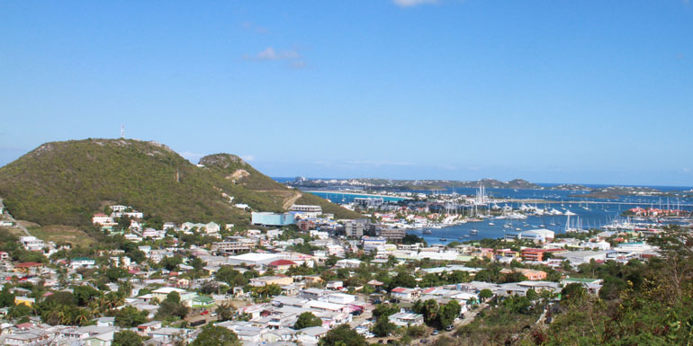cole bay lookout point st martin