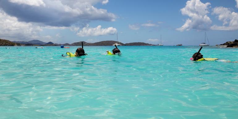st. thomas st. john caribbean snorkeling snorkel