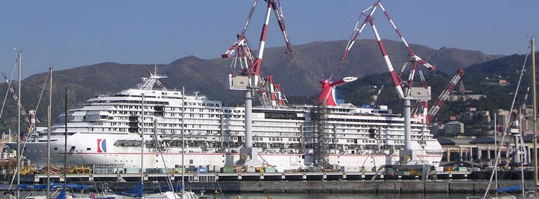 Which Carnival ship was not supposed to be a Carnival ship?