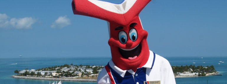 Carnival's mascot is named __________.