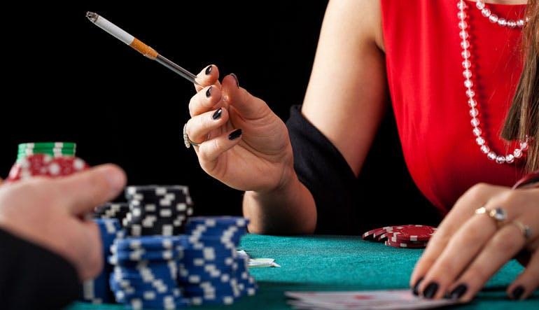 casino cruise ship smoking