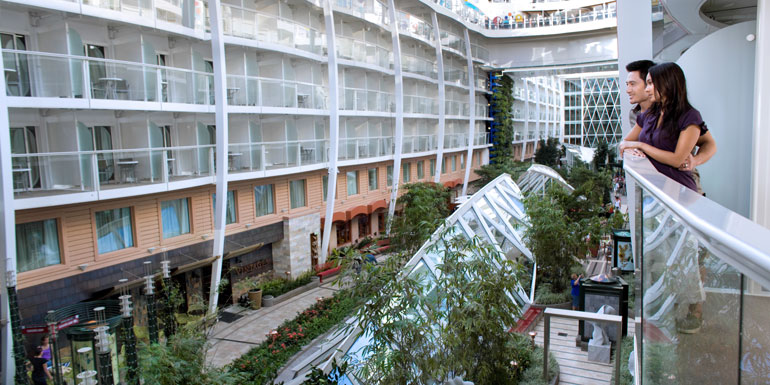royal caribbean oasis balcony cheap cruise