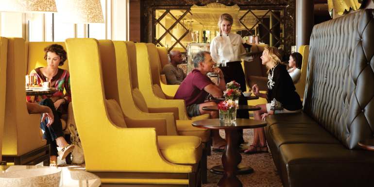 cafe al bacio celebrity cruise coffee