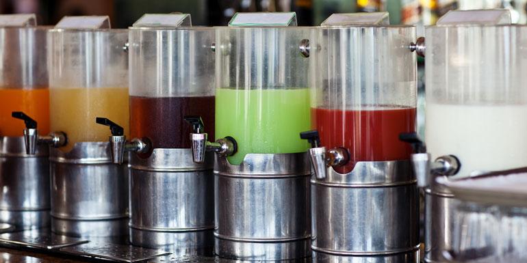 buffet juice cocktails cruise sneak