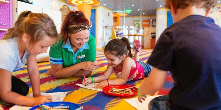 kids clubs reasons to cruise