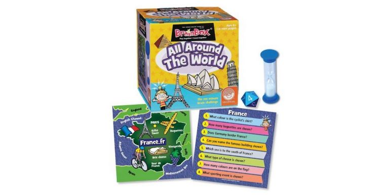 brainbox all around the world family game night