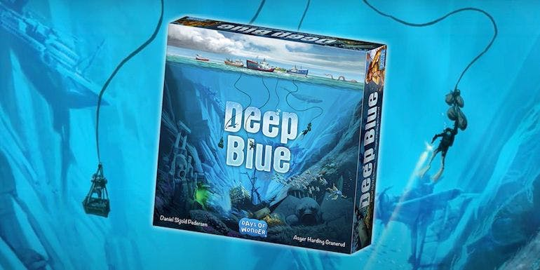 deep blue board game days of wonder