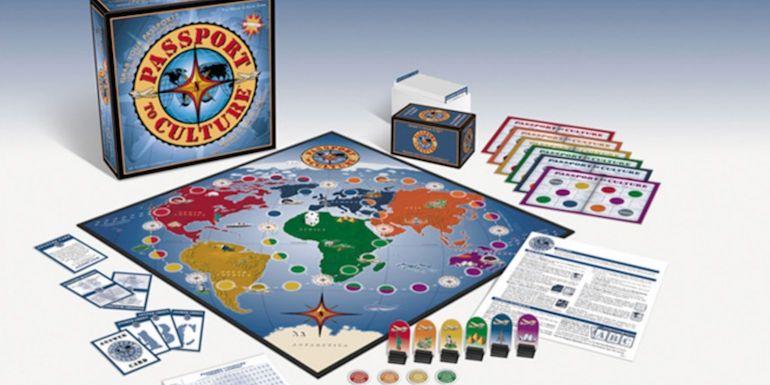 passport to culture board game