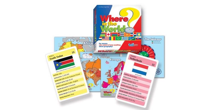 where in the world board game