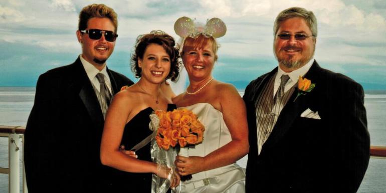 disney cruise wedding vow renewal